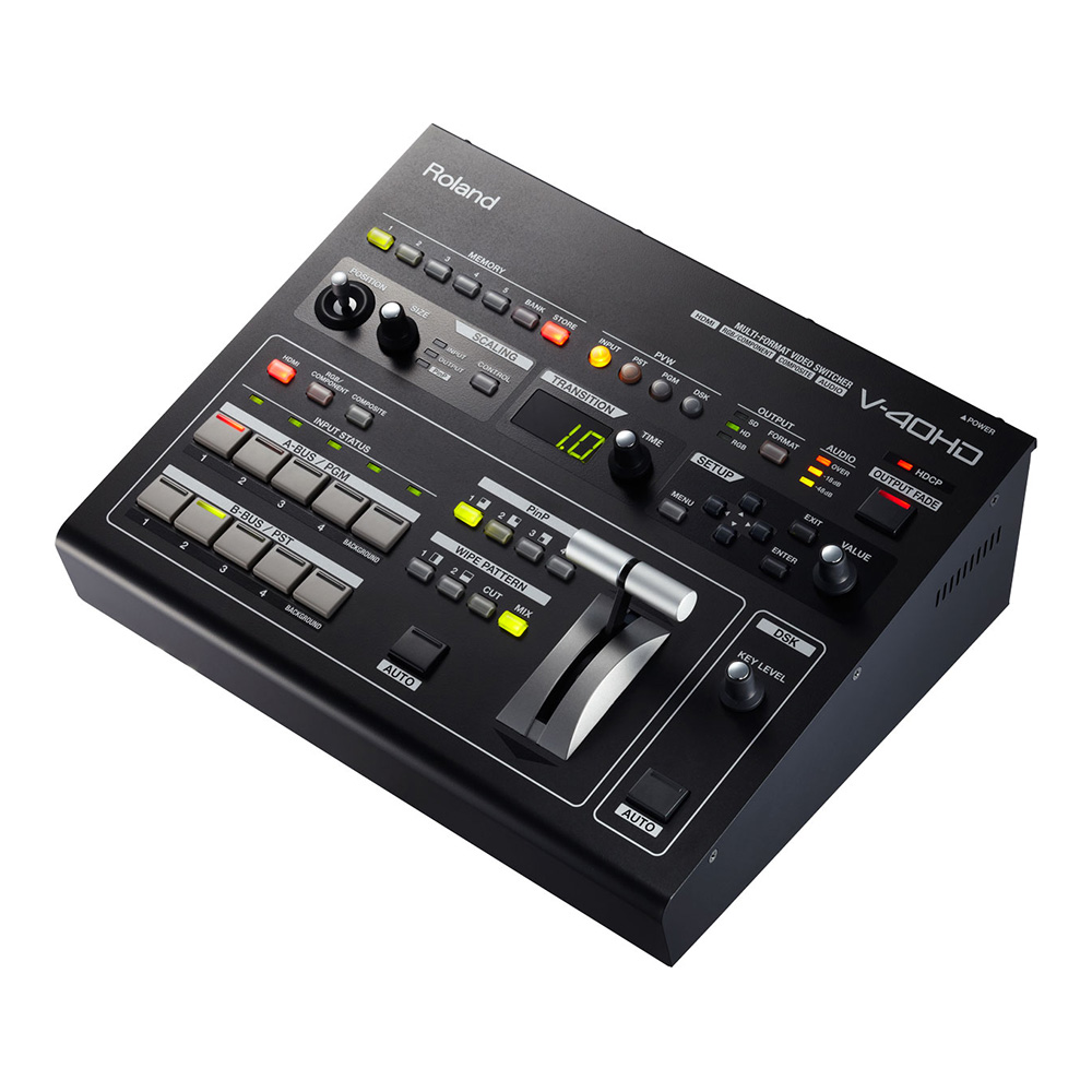 Roland <br>V-40HD MULTI-FORMAT VIDEO SWITCHER