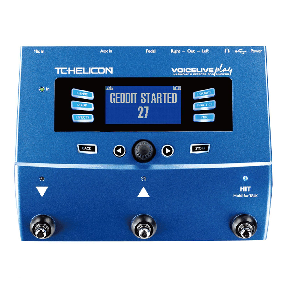 TC HELICON <br>VOICELIVE play