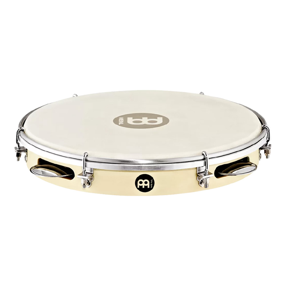 MEINL <br>TRADITIONAL WOOD PANDEIRO POPLAR WOOD [PA10PW-M]