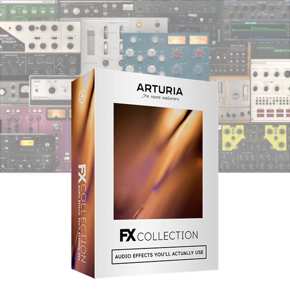 Arturia  <br>FX COLLECTION LICENSE