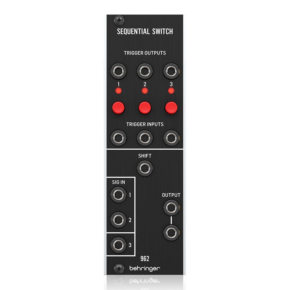 BEHRINGER <br>962 SEQUENTIAL SWITCH