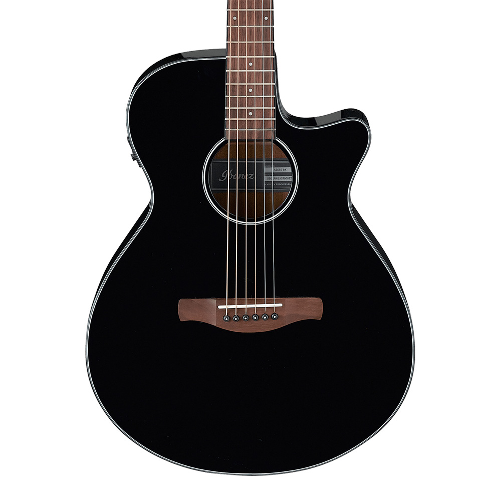 Ibanez <br>AEG50-BK (Black High Gloss)