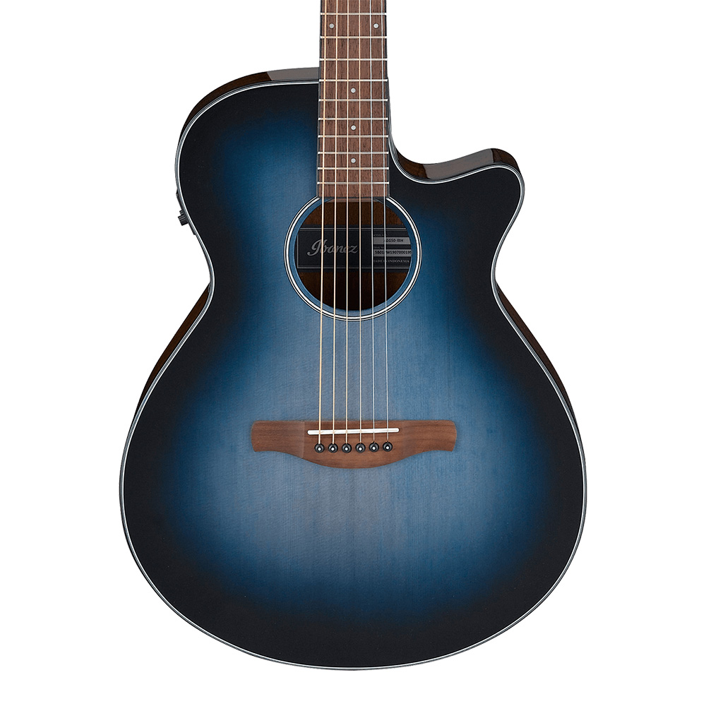 Ibanez <br>AEG50-IBH (Indigo Blue Burst High Gloss)