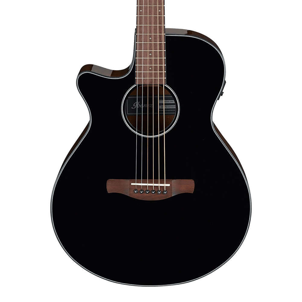 Ibanez <br>AEG50L-BKH (Black High Gloss)