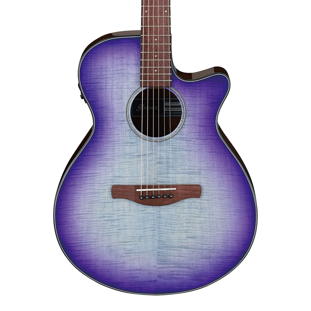 Ibanez <br>AEG70-PIH (Purple Iris Burst High Gloss)