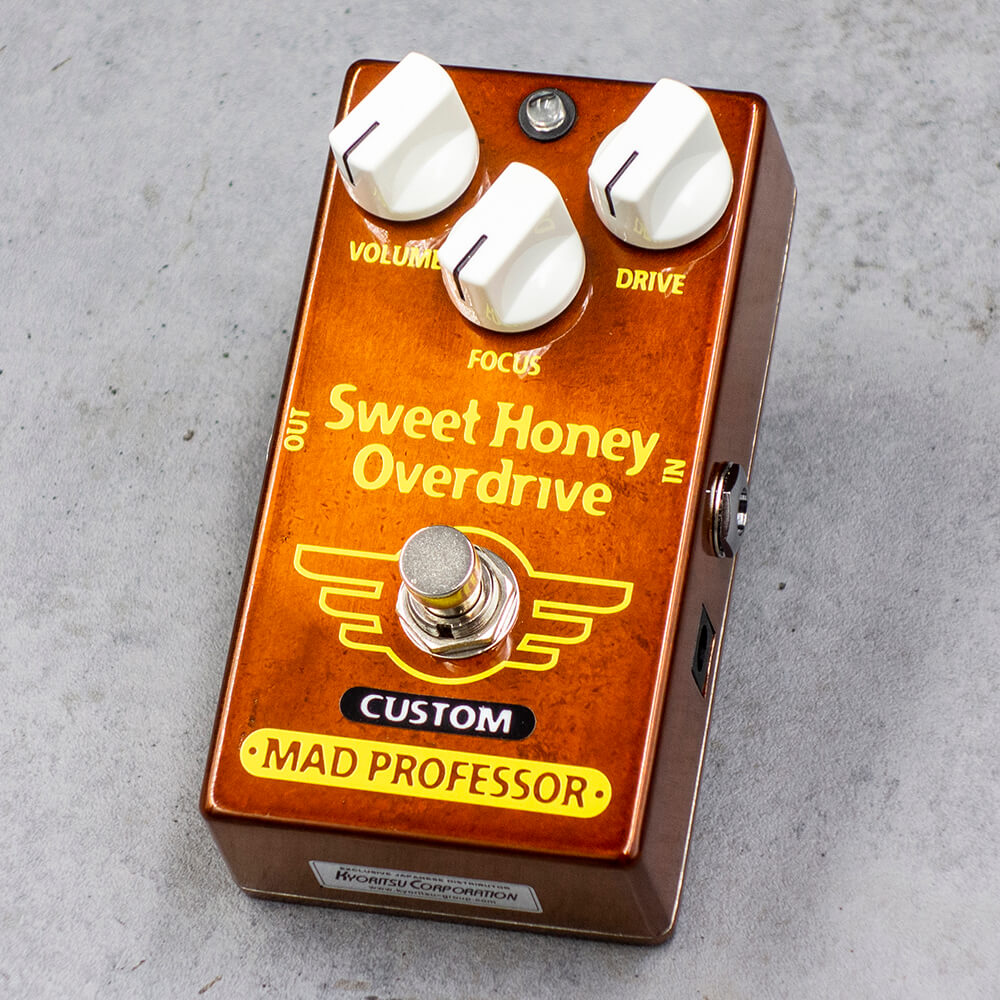 "MAD PROFESSOR <br>Sweet Honey Overdrive ""Fat Bee"" MOD"