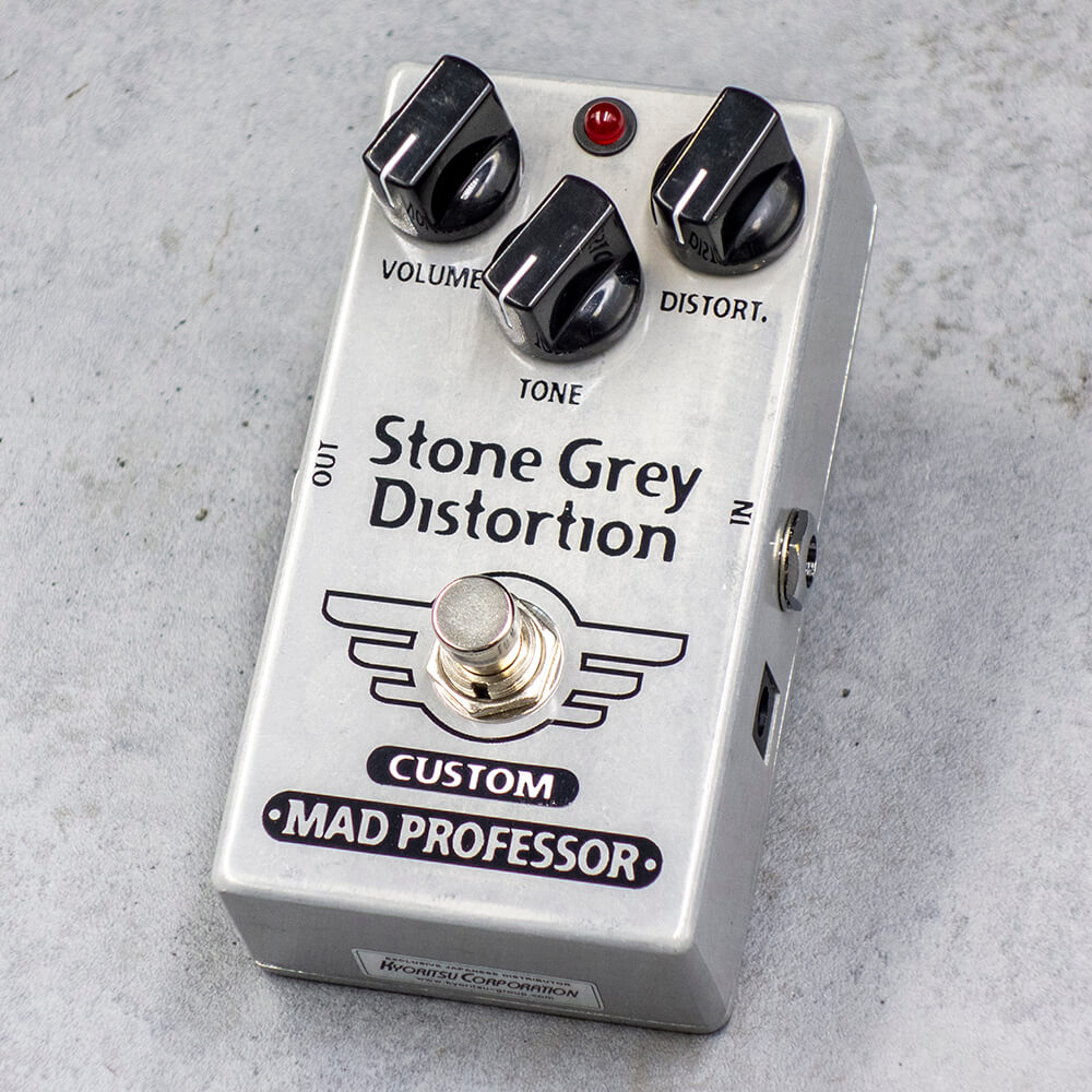 "MAD PROFESSOR <br>Stone Grey Distortion ""Modernized"" MOD"