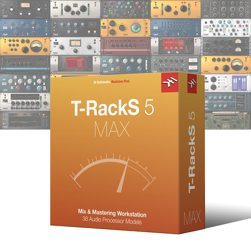 IK Multimedia <br>T-RackS 5 MAX
