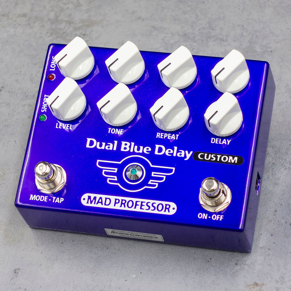 "MAD PROFESSOR <br>Dual Blue Delay ""Deep"" MOD"