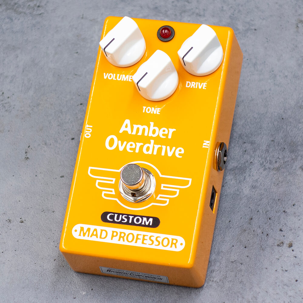 "MAD PROFESSOR <br>Amber Overdrive ""Midas Touch"" MOD"