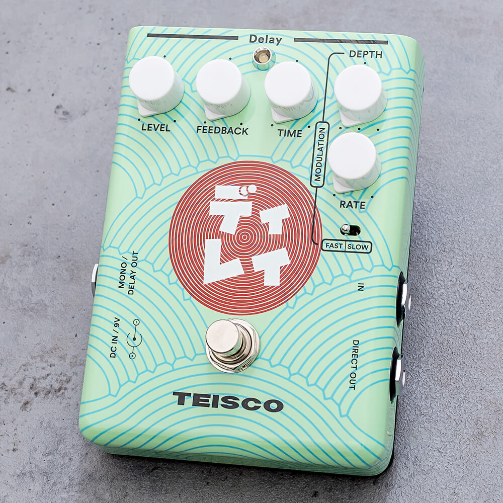 TEISCO <br>ディレイ[Delay Pedal]