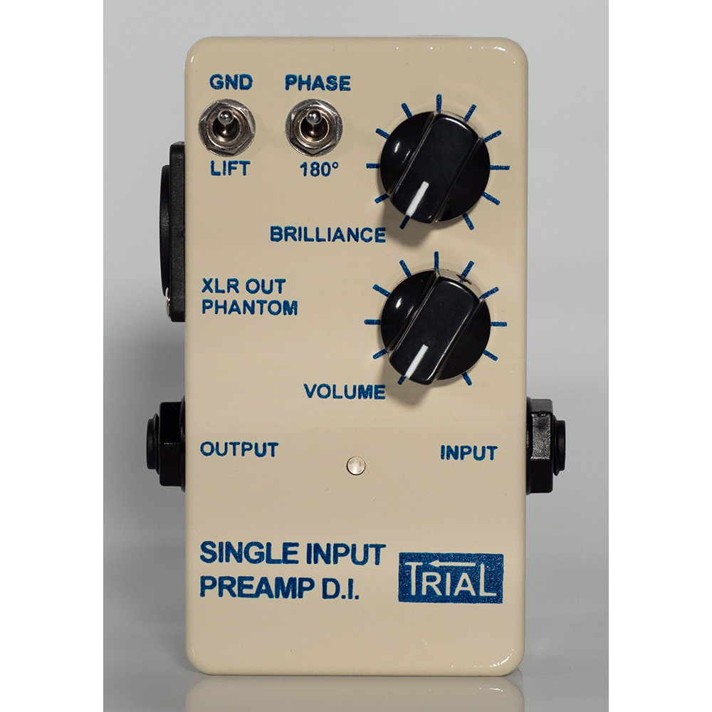 TRIAL <br>SINGLE INPUT PREAMP D.I.