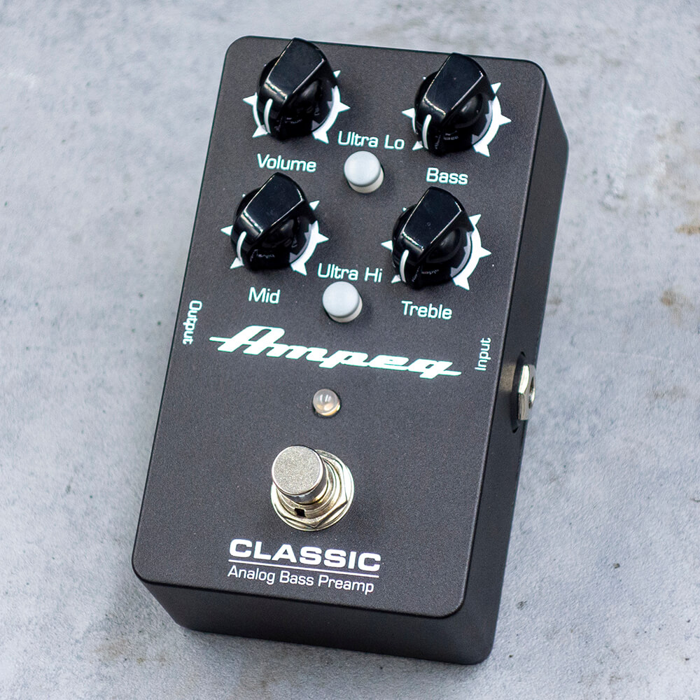 Ampeg <br>Classic Analog Bass Preamp