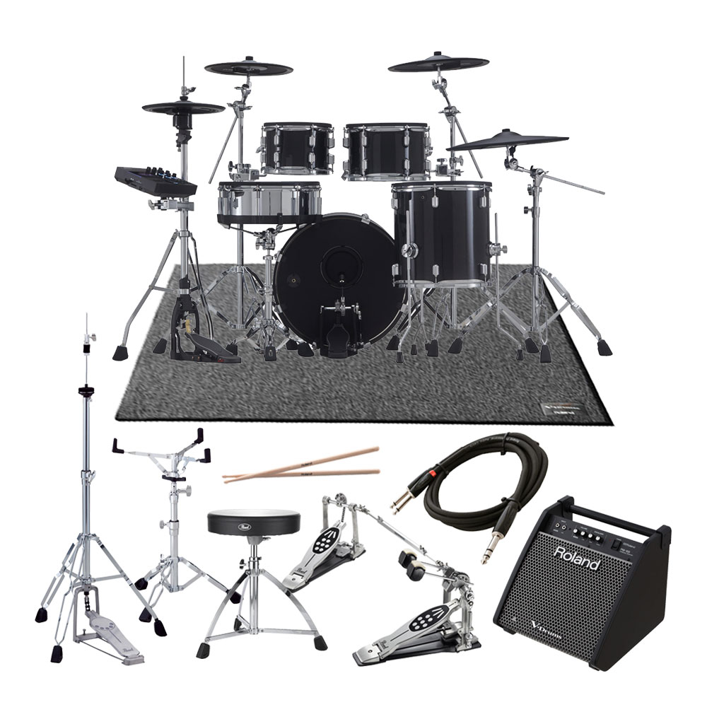 Roland <br>V-Drums Acoustic Design Series VAD506 + KD-200-MS ツインフルオプションPM-100スピーカーセット
