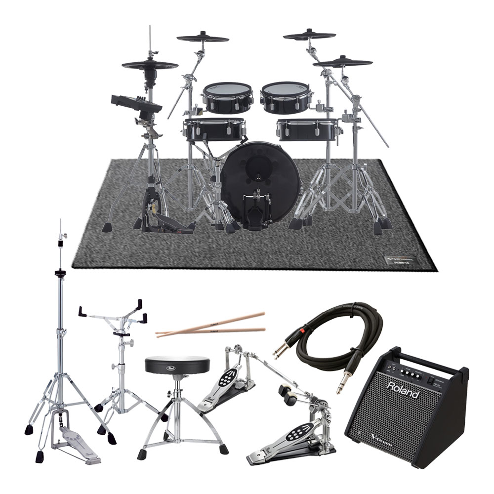 Roland <br>V-Drums Acoustic Design Series VAD306 ツインフルオプションPM-100スピーカーセット