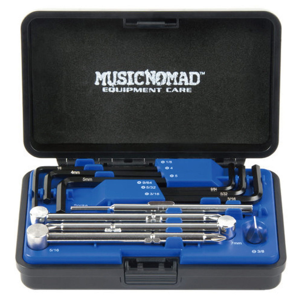 MUSIC NOMAD <br>MN235 Premium Guitar Tech Truss Rod Wrench Set