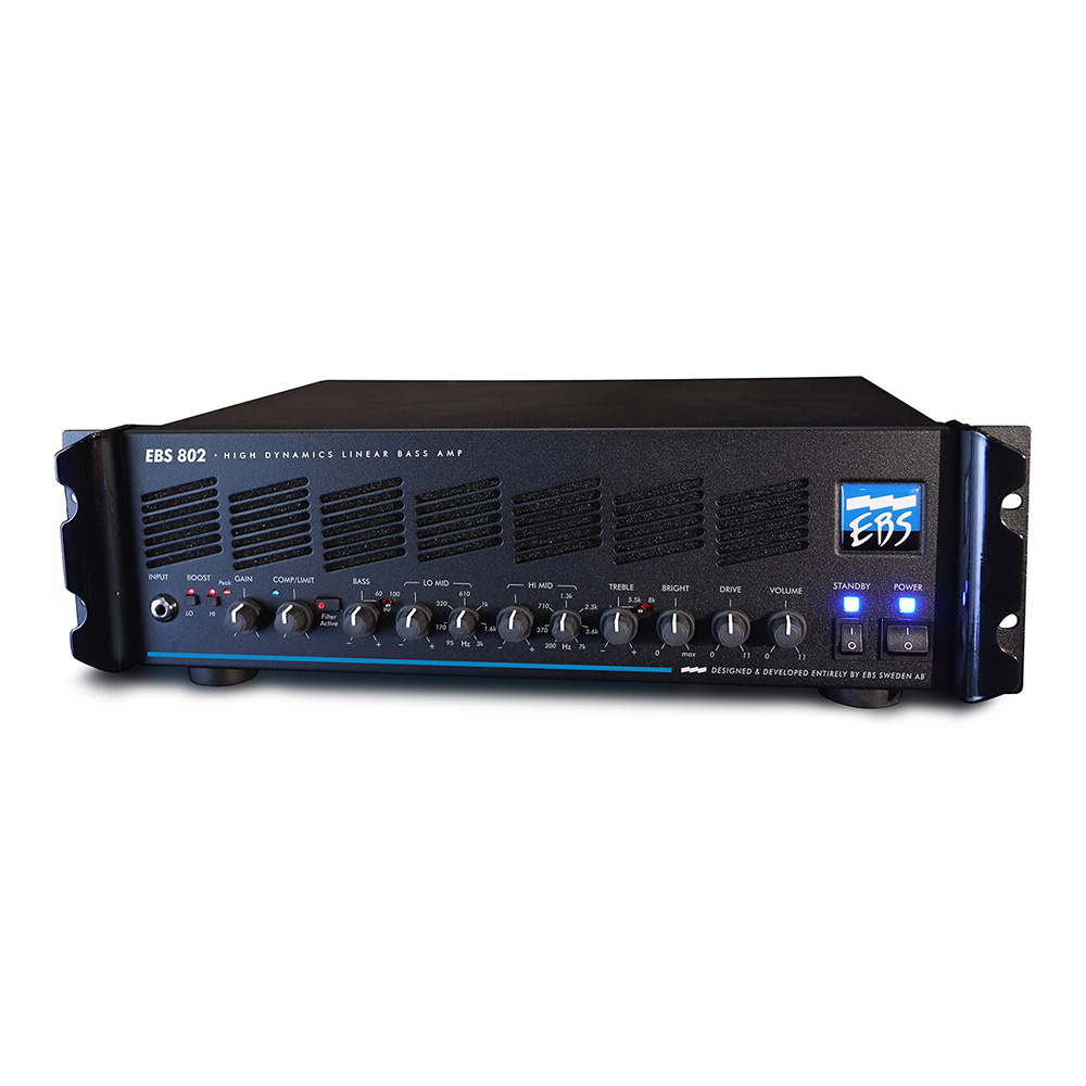 EBS <br>802 High Dynamics Linear Bass Amp