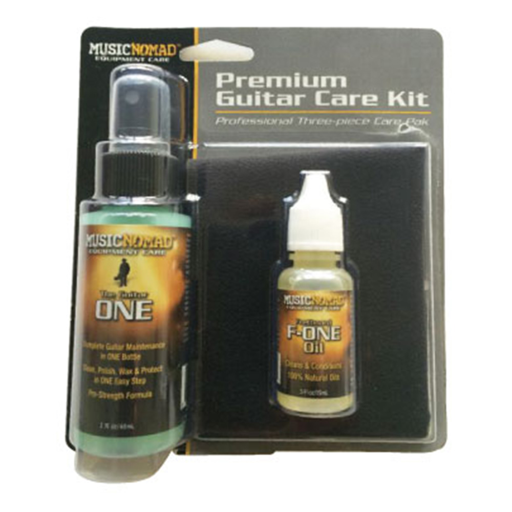 MUSIC NOMAD <br>MN140 Premium Guitar Care Kit - 3 pc