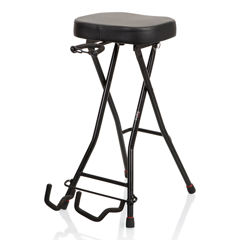GATOR Frameworks <br>GUITAR STOOL with STAND [GFW-GTRSTOOL]