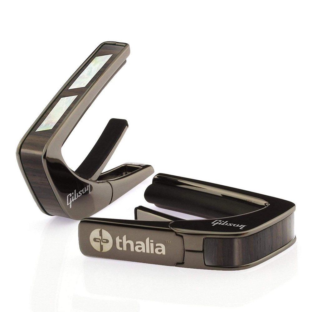 Thalia Capo <br>Gibson License Model / Split Parallelogram Indian Rosewood / Black Chrome