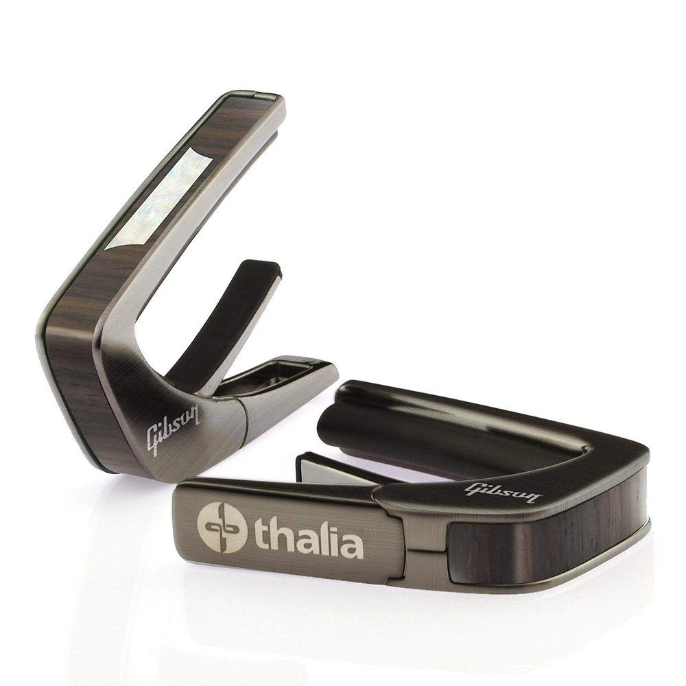 Thalia Capo <br>Gibson License Model / Trapezoid Indian Rosewood / Black Chrome