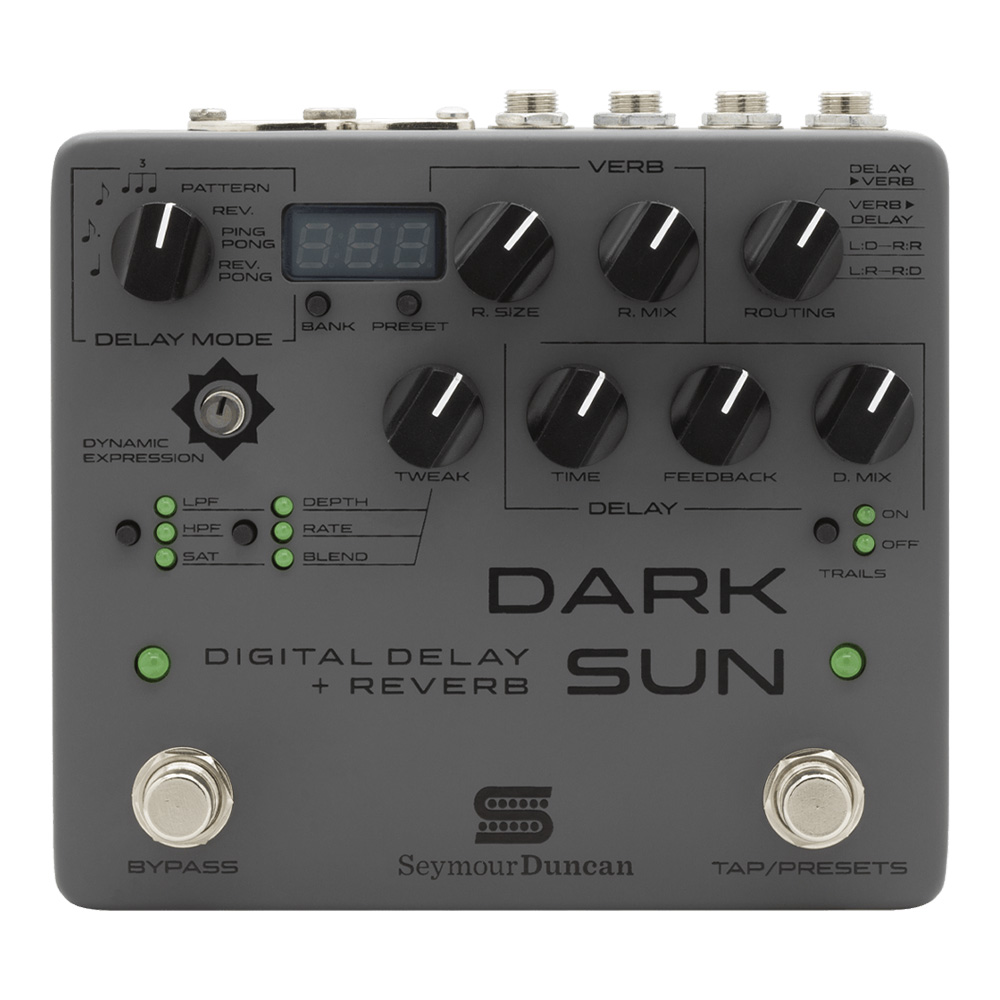Seymour Duncan <br>Dark Sun - Digital Delay & Reverb