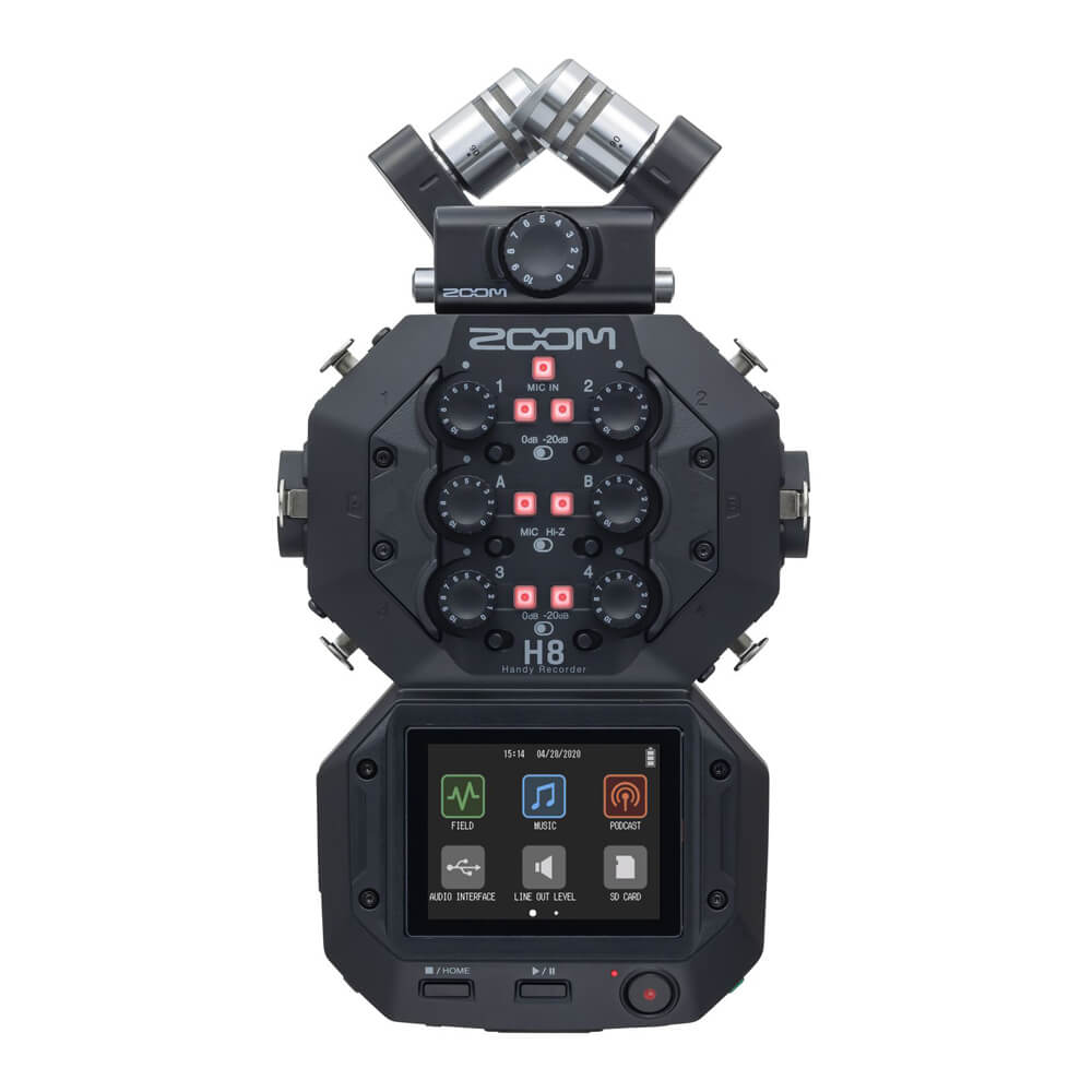 ZOOM <br>H8 Handy Recorder