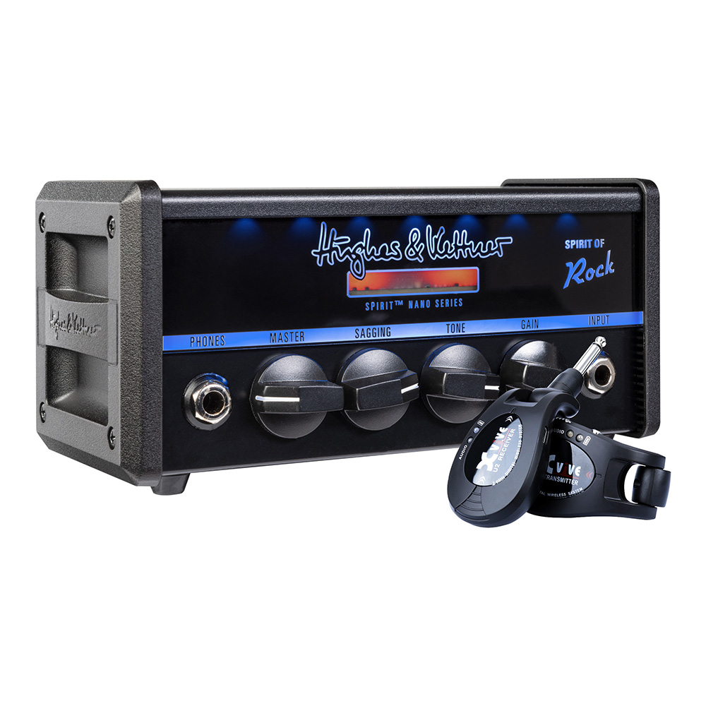 Hughes & Kettner <br>Spirit of Rock ワイヤレスパッケージ [HUK-SPNANO/RU2]