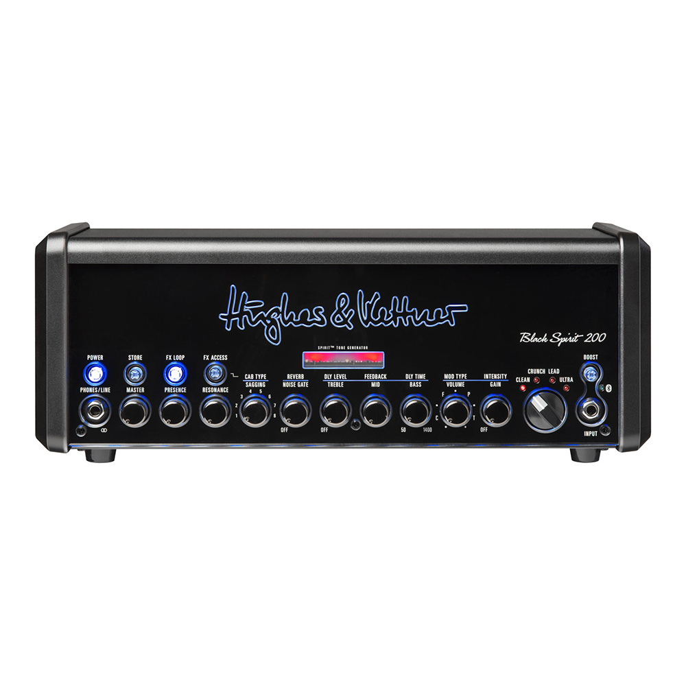 Hughes & Kettner <br>Black Spirit 200 Head [HUK-BS200/H]