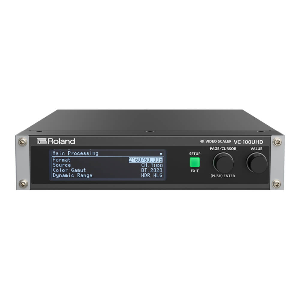 Roland <br>VC-100UHD 4K VIDEO SCALER