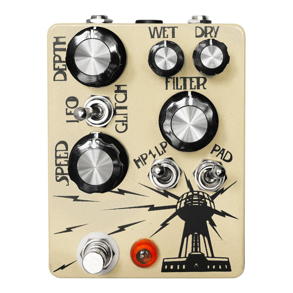 Hungry Robot Pedals <br>The Wardenclyffe