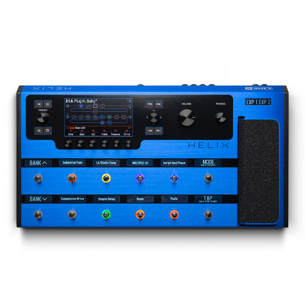 Line 6 <br>Helix Floor Lightning Blue
