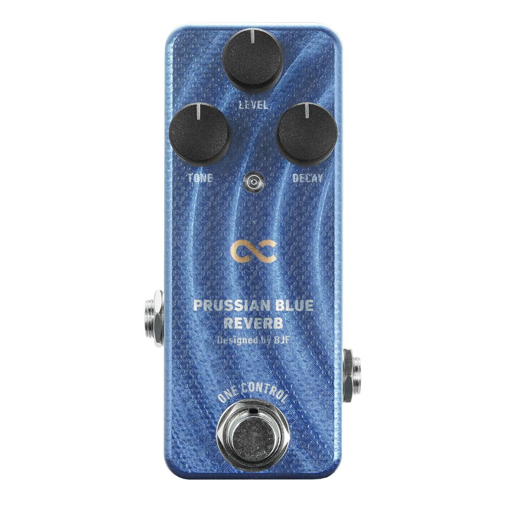 One Control <br>PRUSSIAN BLUE REVERB