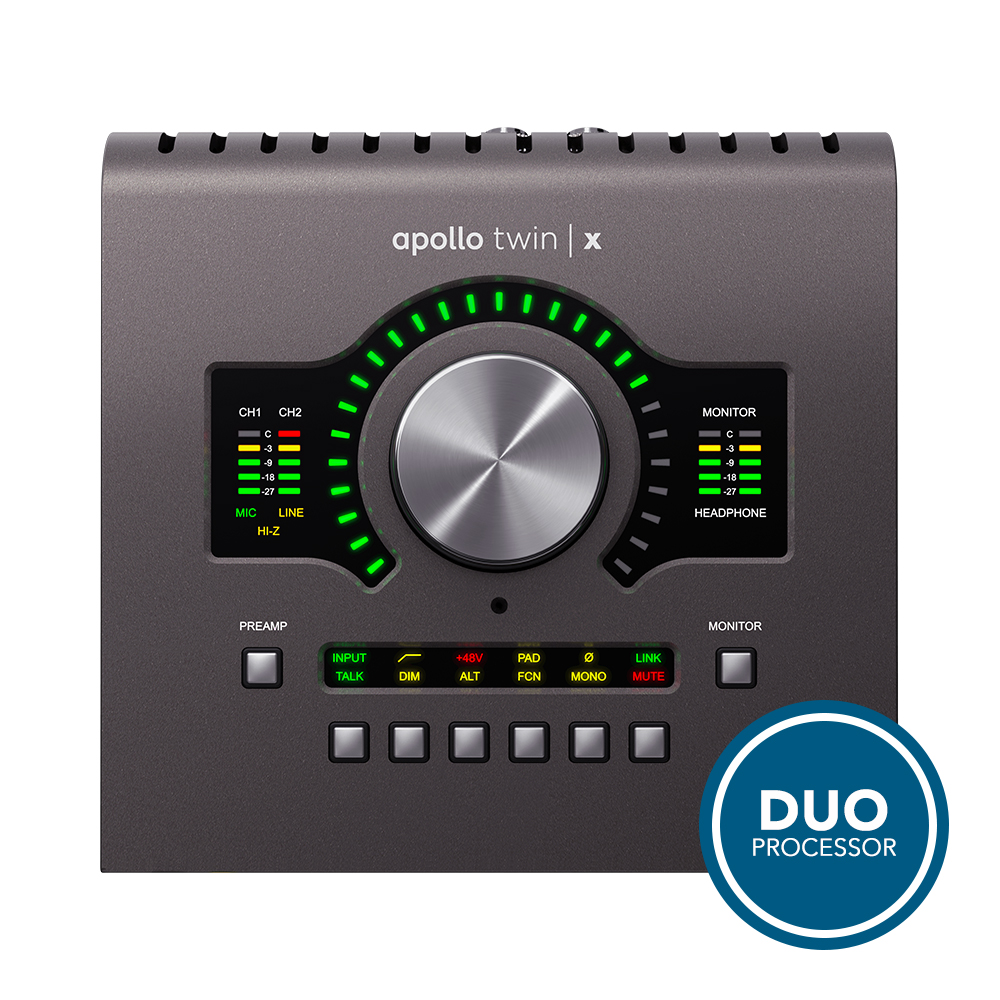 UNIVERSAL AUDIO <br>Apollo Twin X Duo Heritage Edition