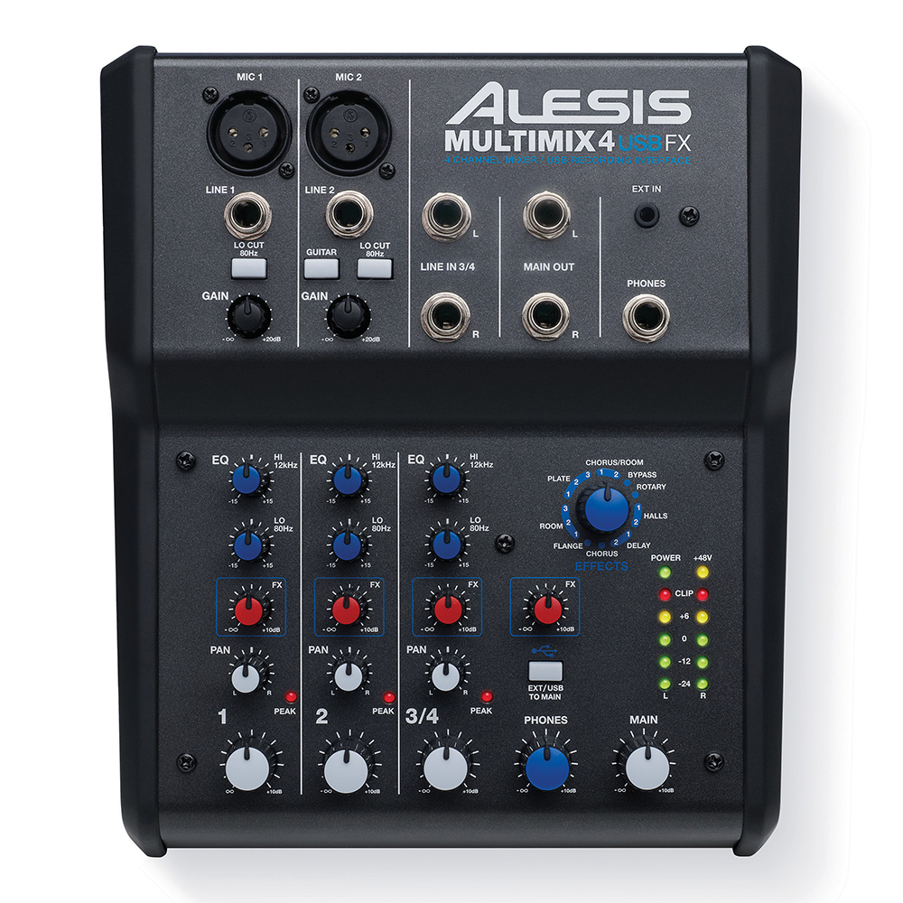 ALESIS <br>MultiMix 4 USB FX