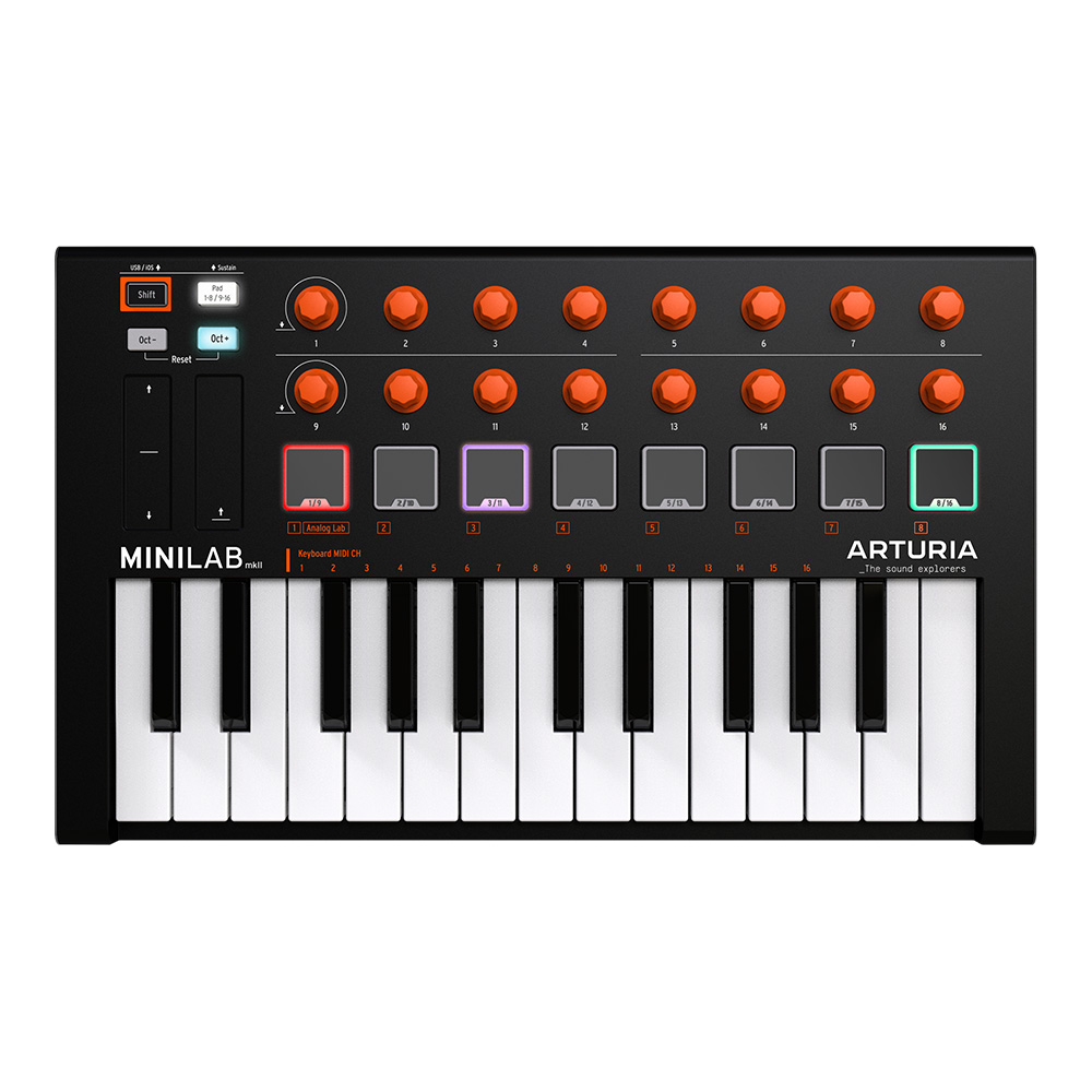 Arturia <br>MiniLab MKII Orange Edition
