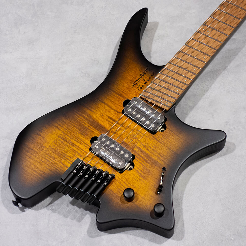 strandberg <br>Boden Original 6 Neck-Through Brown Burst