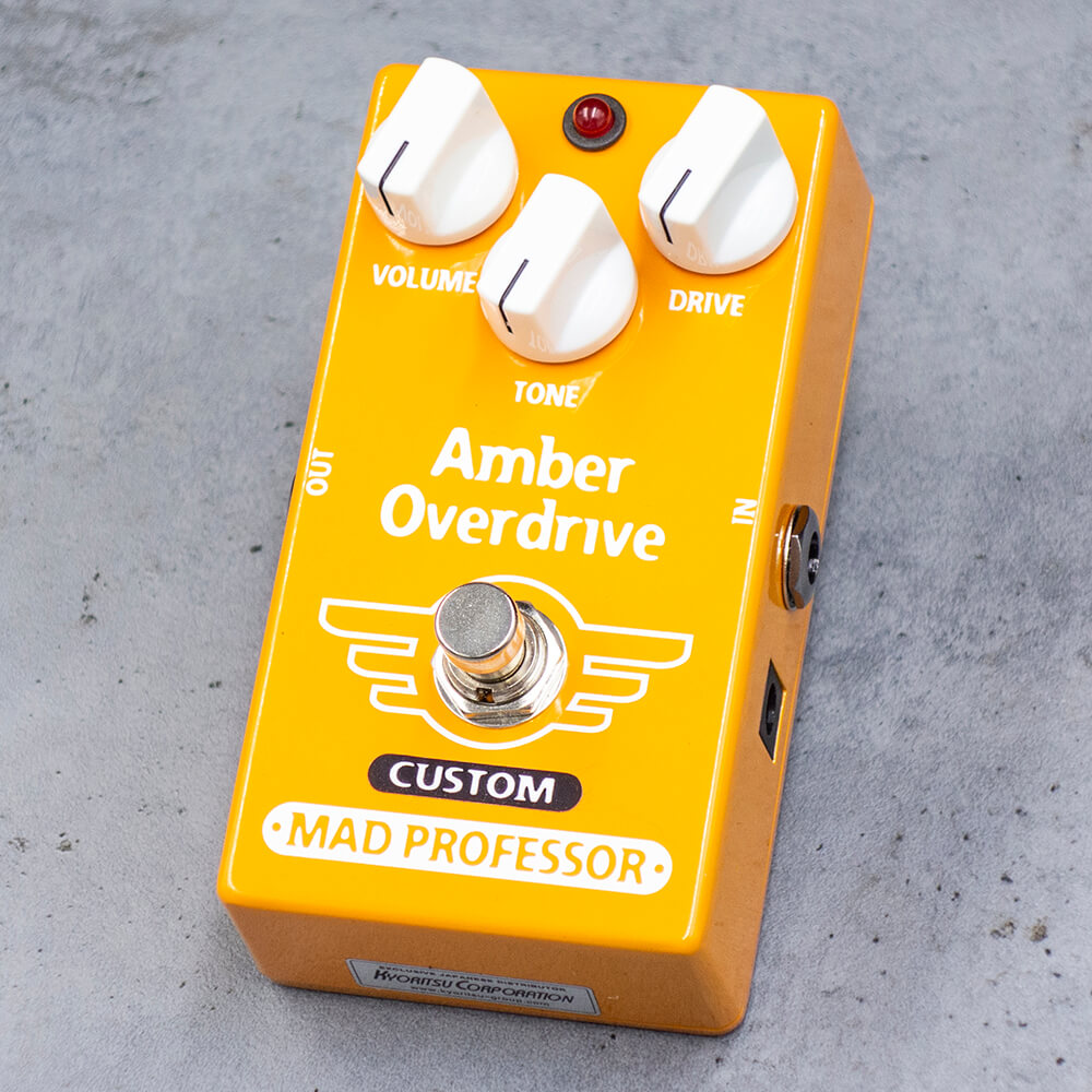"MAD PROFESSOR <br>Amber Overdrive ""For Bass"" MOD"