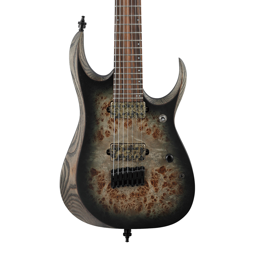 Ibanez <br>RGD AXION LABEL RGD71ALPA-CKF (Charcoal Burst Black Stained Flat)