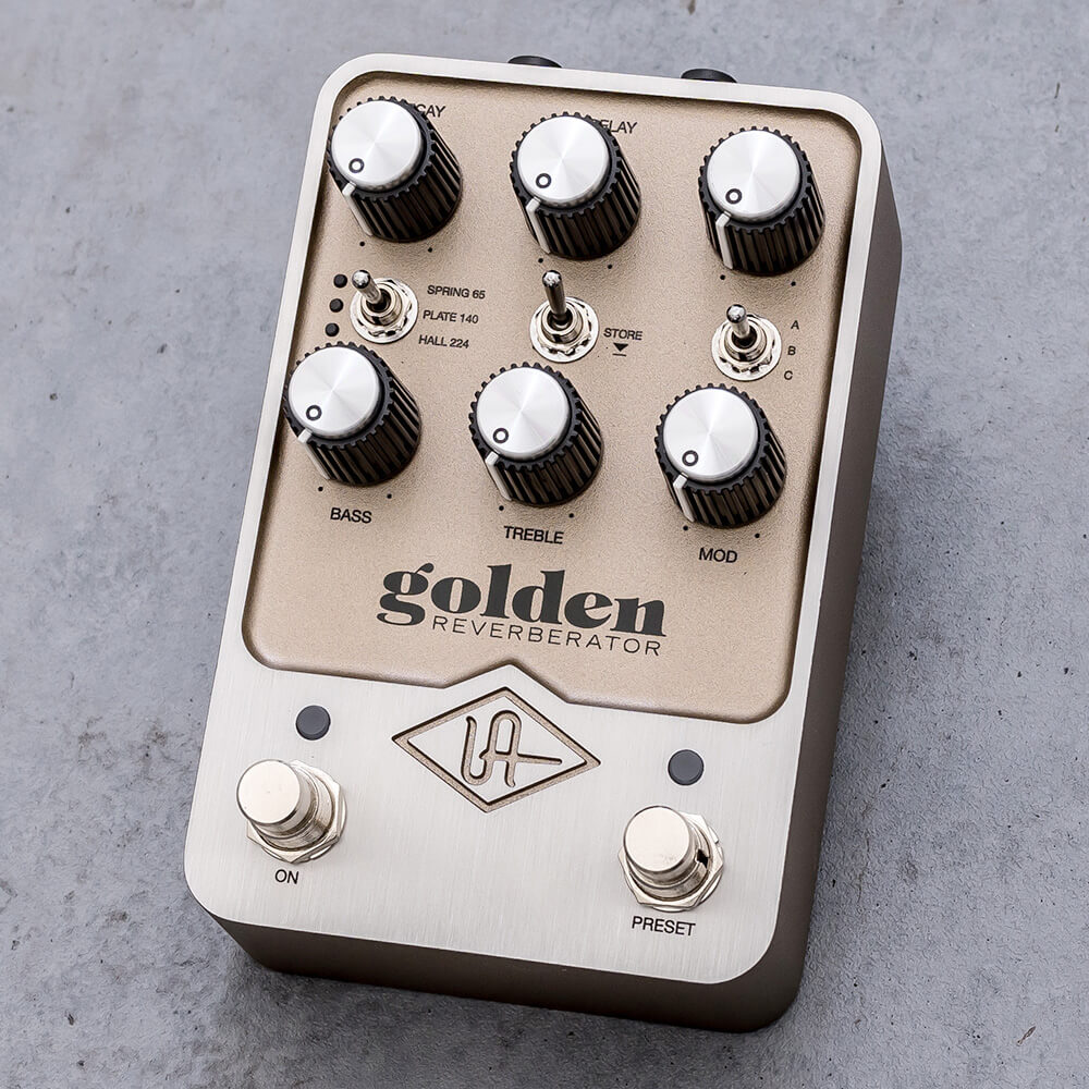 UNIVERSAL AUDIO <br>UAFX Golden Reverberator