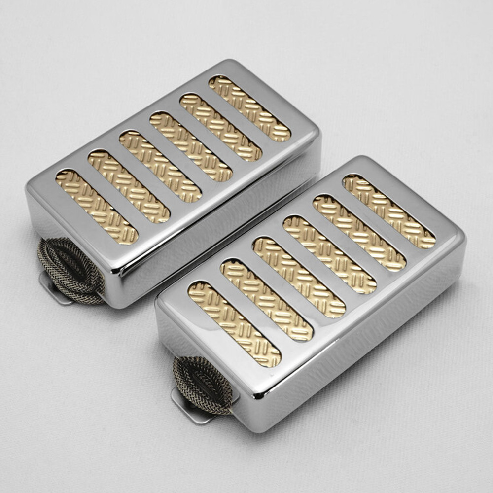 Righteous Sound Pickups <br>21:21 Set Nickel Cover / Gold Foil