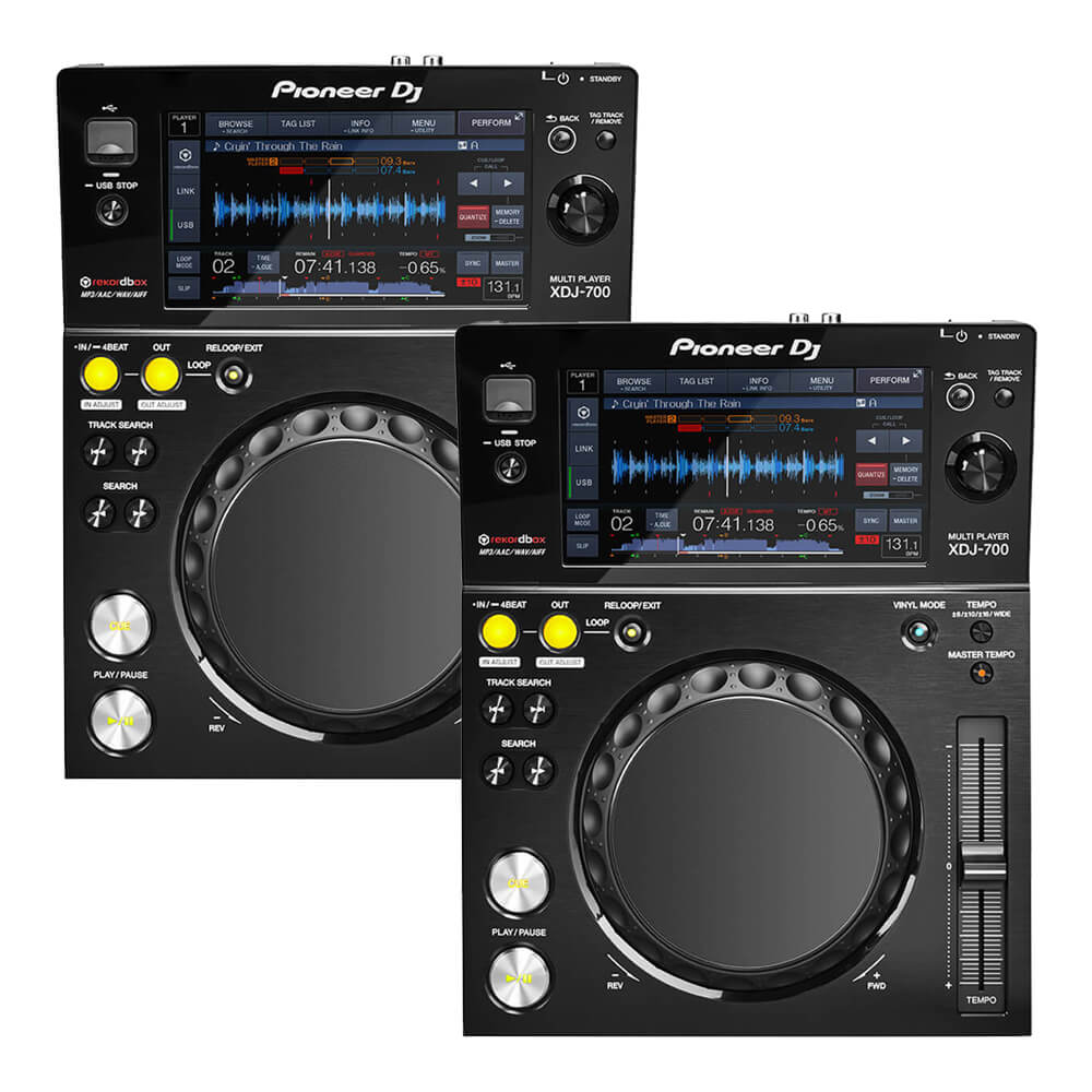 Pioneer DJ <br>XDJ-700 Twin set