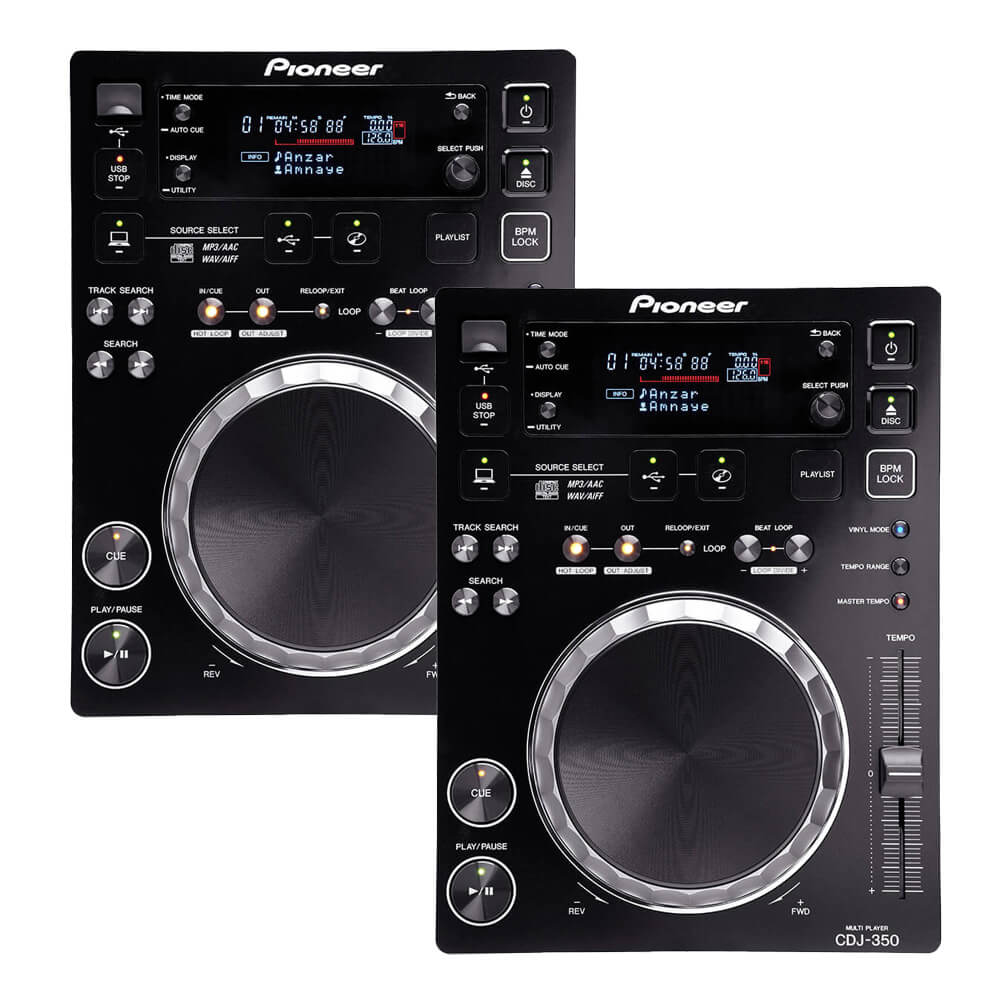 Pioneer DJ <br>CDJ-350 Twin set