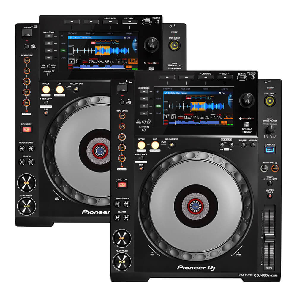 Pioneer DJ <br>CDJ-900NXS Twin set