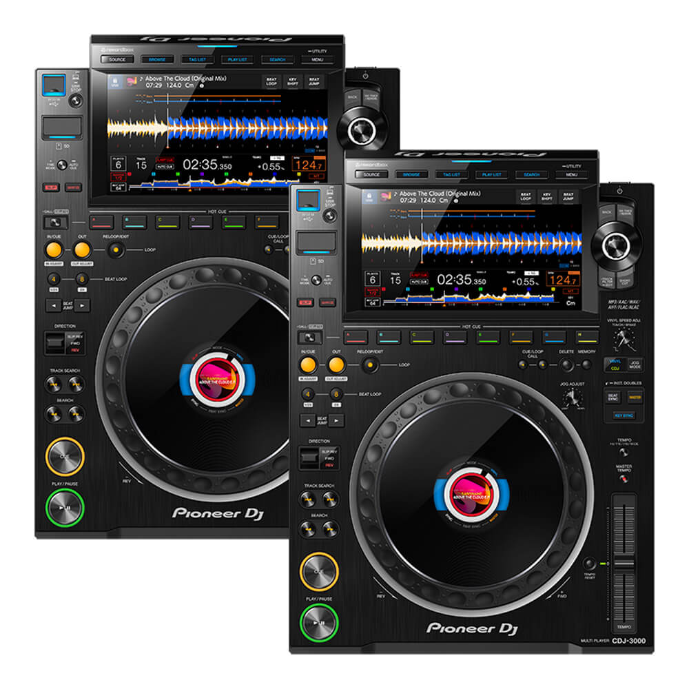 Pioneer DJ <br>CDJ-3000 Twin set