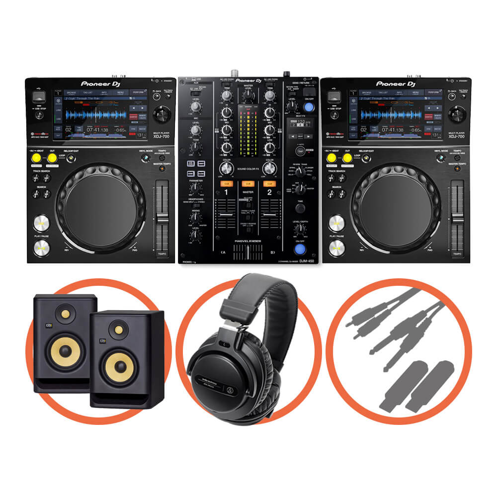 Pioneer DJ <br>XDJ-700 Beat FX Plus set
