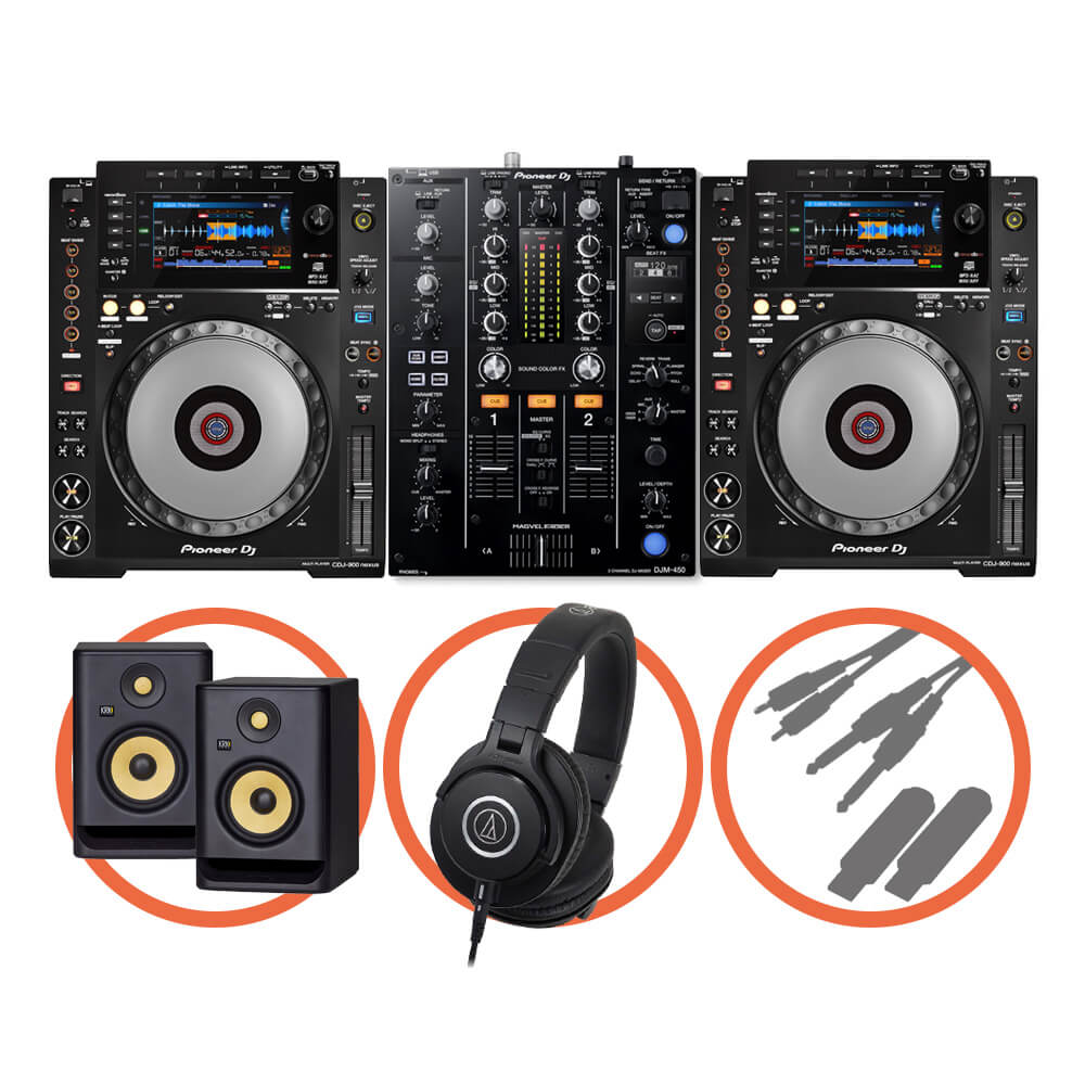 Pioneer DJ <br>CDJ-900NXS Beat FX Plus set