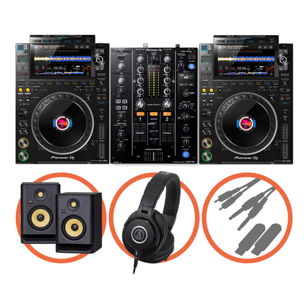 Pioneer DJ <br>CDJ-3000 Beat FX Plus set