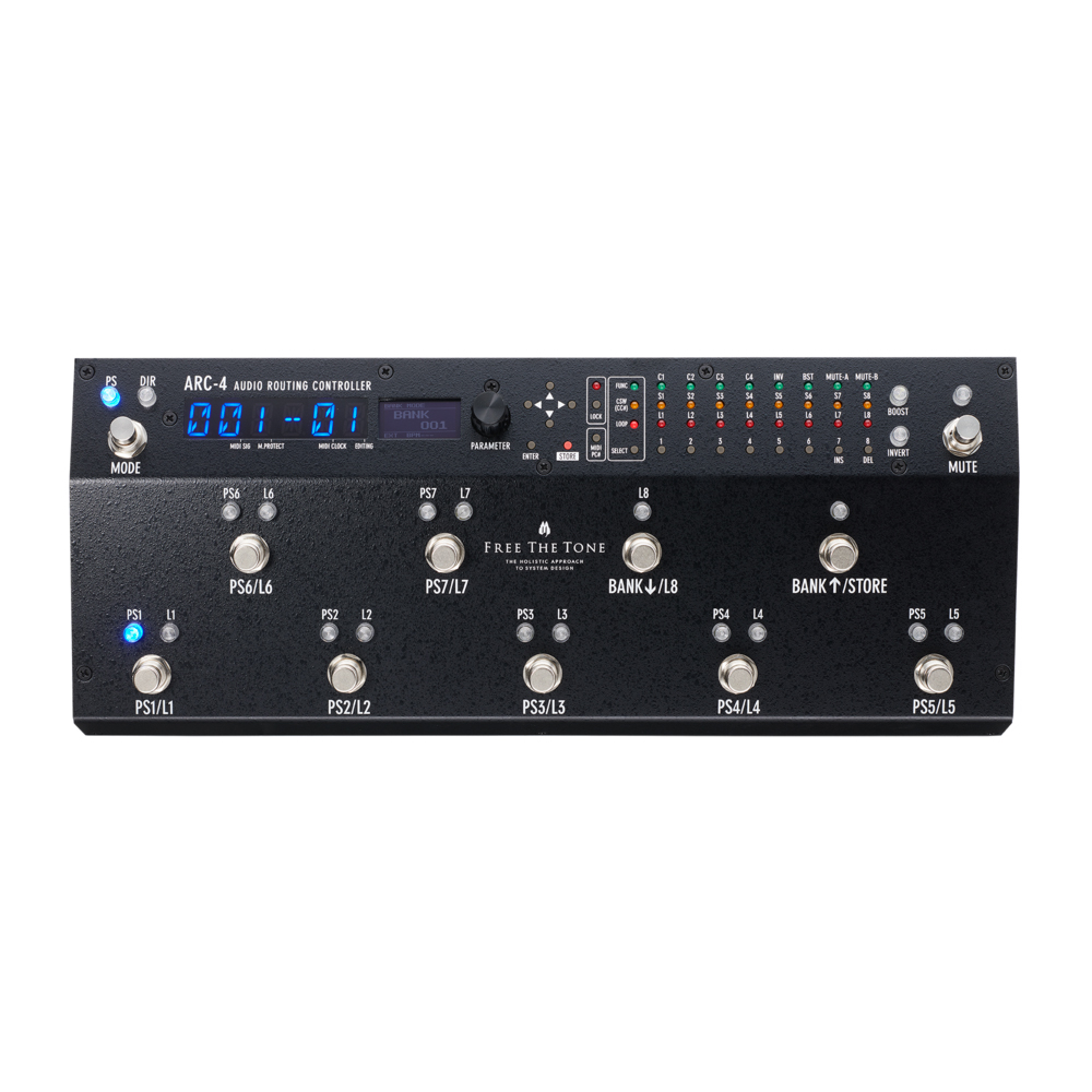 Free The Tone <br>ARC-4(CL) AUDIO ROUTING CONTROLLER