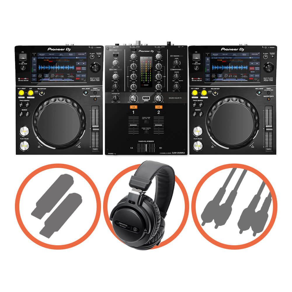 Pioneer DJ <br>XDJ-700 Scratch set